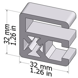 20.1070CLAMPPROF32X32L