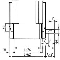 21.0981BeltDrivingCylinder90R