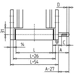 21.0995BeltDrivingCylinder45R