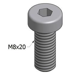 21.12022M8x20SHCSSSL2