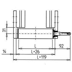 29.5023BeltDrivingCylinder45ForPlugOnMotorR