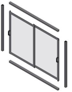 Double Framed Sliding Door 4