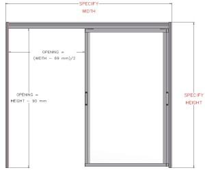 SP121112 1 Double Sliding Door 3