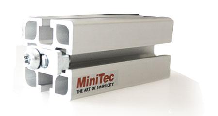 MiniTec Aluminum T-Slot Framing Extrusions & Fasteners